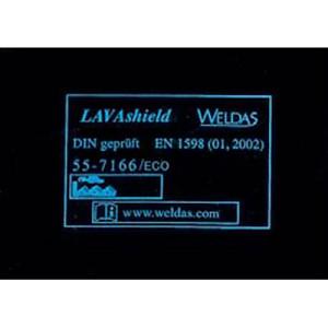 55-7166/Eco-screen LAVAshield® perdea de sudură model economic verde
