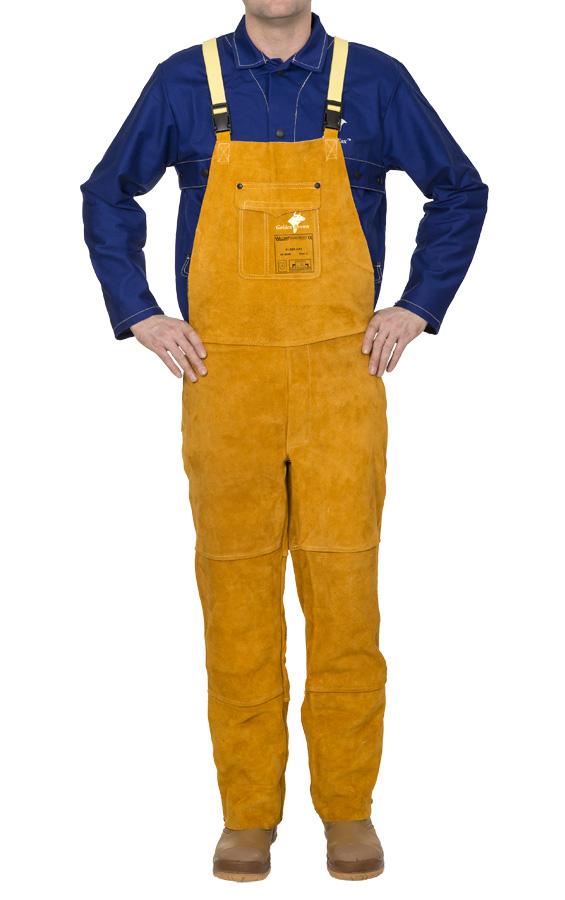 44-2600 Golden Brown™ pantaloni de sudură din şpalt de vită