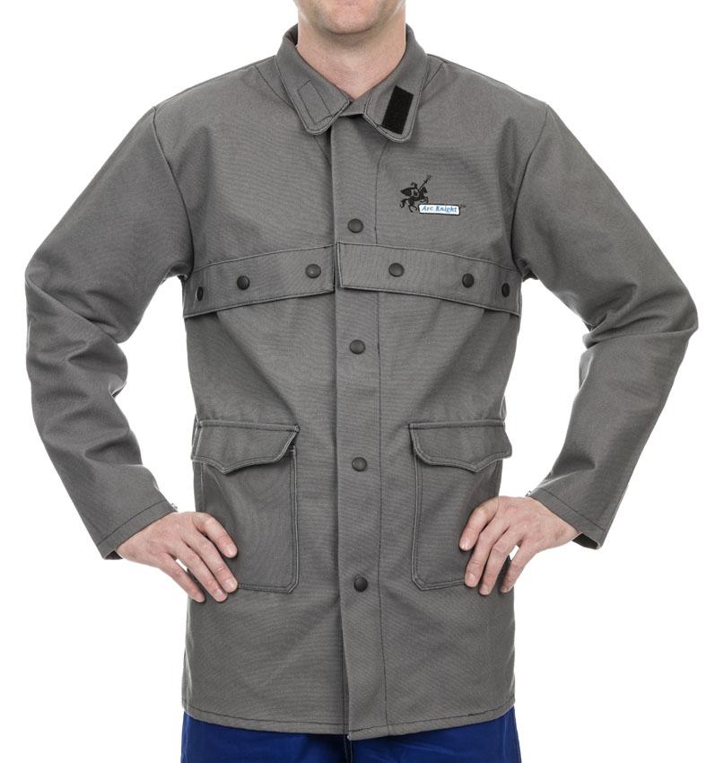 38-4330 Jachetă sudură Arc Knight™, bumbac ignifug 520 gr./m2