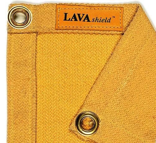 50-3068 LAVAshield® pătură de sudură fibră de sticlă aurie 538°C. 174 x 234 cm.