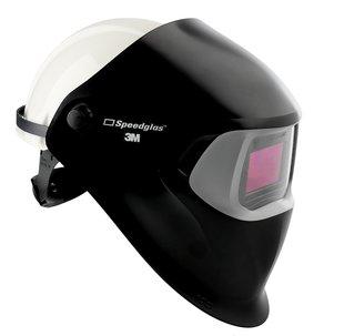 Masca de sudura 3M™ Speedglas™ 100 (culoare neagra) cu filtru 100V si casca de protectie, 78 31 20