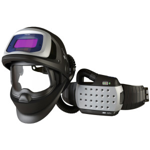 3M™ Speedglas™ 9100 FX Air Helmet with Adflo™ Respirator