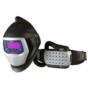 3M™ Speedglas™ 9100 Air Helmet with Adflo™ Respirator
