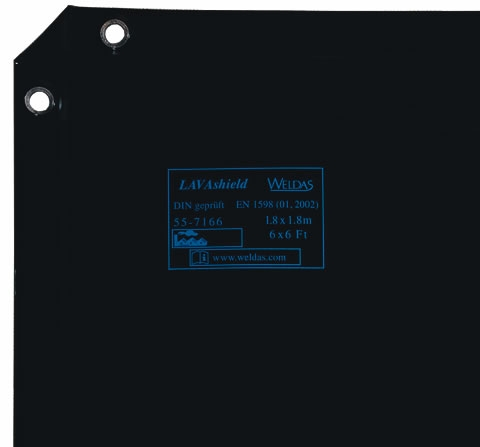55-7166-LAVAshield® ecran de sudură verde