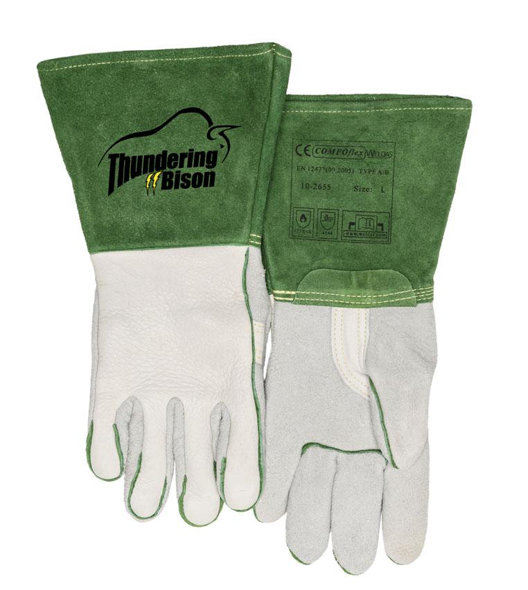 10-2655-ThunderingBison™ mănuşă de sudură cu întăritură în palmă