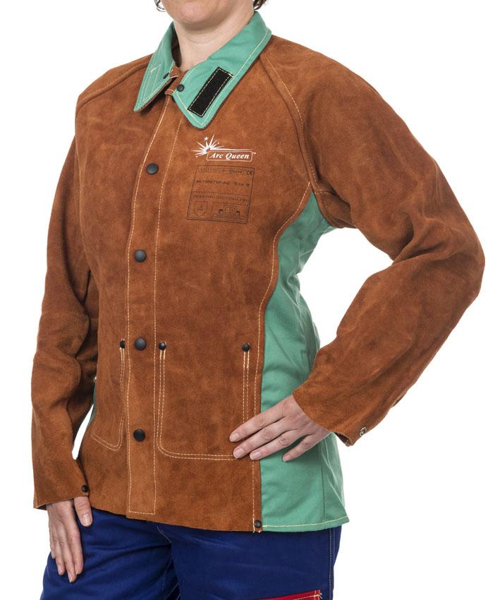 44-7300/P-AQ Lava Brown™, Arc Queen™ Jacheta de sudura pentru femei