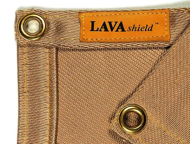 50-1866 LAVAshield® pătură de sudură din sticlă silica 1260°C. 174 x 174 cm