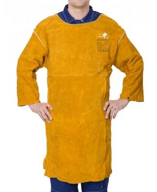44-2847 Golden Brown™ şorţ cu mâneci pentru sudură din şpalt de vită